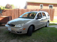 2007 Focus SES Wagon Heated Seats and Mirrors