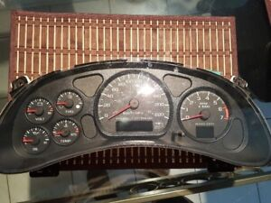 2000-2005 Chevrolet Impala LS or SS speedometer with 6 Gauge