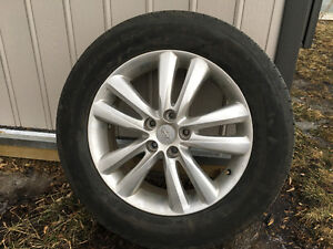 """18"""" Rims 5x114.3 and 235 60 18 tires"""