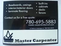German Master Carpenter & Cabinet Maker