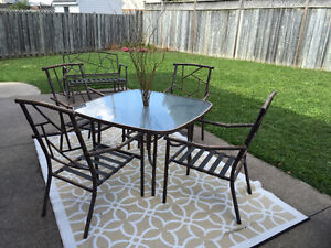 10 pc Metal Patio Set *MUST SELL*