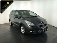 2013 PEUGEOT 5008 ALLURE HDI DIESEL MPV 7 SEATS 1 OWNER FROM NEW FINANCE PX