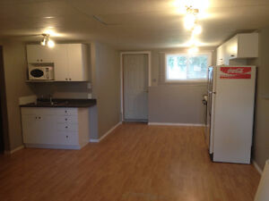 Westside basement suite available for October Utilities Included