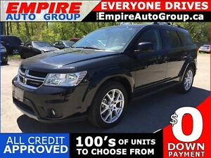 2016 DODGE JOURNEY LIMITED * DVD * SUNROOF * REAR CAM * SAT RADI