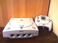 Sega Dreamcast + 1 manette +1 VMU