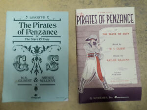 Scripts/Librettos for Gilbert & Sullivan shows