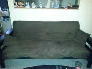 Futon, love seat and chair free
