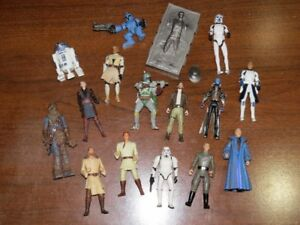 Vintage and New Star Wars Collectibles Lot - More Figures Added!