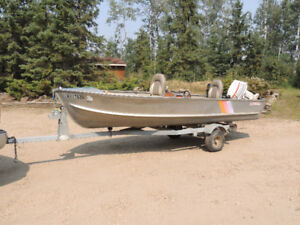Princecraft 14ft fishing boat