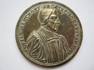 1688 Archbishop Sancroft and the Bishops medal silver 51mm Eimer 288b