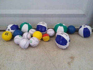 Lot of assorted inflatable balls and soft balls NEW London Ontario image 3
