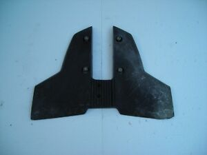 Hydrofoil for 10-15 hp outboard motor