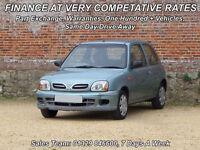Nissan Micra 1.0 16v CVT 2001MY S