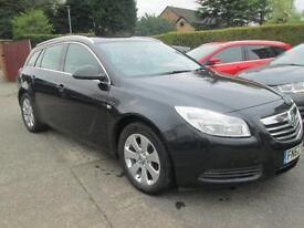 2012 62 Vauxhall Insignia 2.0 CDTi Techline S-S Black Superb