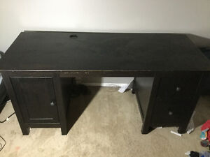 Need Gone ASAP solid brown desk paid 650 from Ikea