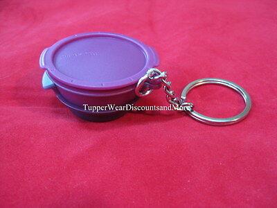 Tupperware NEW Miniature Mini Smart Steamer PURPLE Keyring Keychain