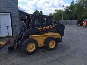 New Holland skid steer LS180 turbo super boom
