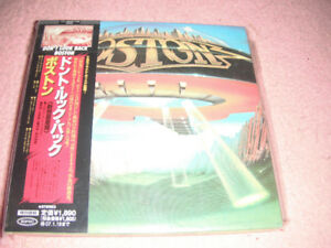 Boston ‎– Don't Look Back Japanese, import cd.