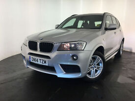 2014 BMW X3 XDRIVE 20D M SPORT AUTO DIESEL 1 OWNER SERVICE HISTORY FINANCE PX