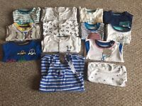 Small bundle of boys clothes 0-3 months