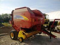 2010 New Holland BR7060 Roto Cut Round Baler