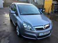57 2007 Vauxhall Zafira 1.6i 16v Energy S/HISTORY-5 STAMPS, 7 SEATS, LOW MILES