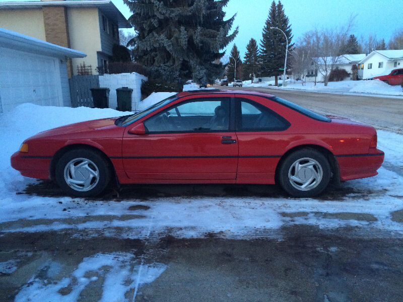 Kijiji Alberta Used Cars: 90 Thunderbird SuperCoupe-Best Condition, Lowest Price On