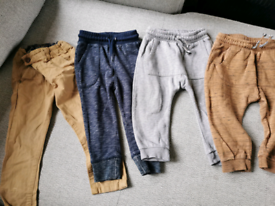 Bundle of 4 x pairs boys trousers age 18-24 months £2