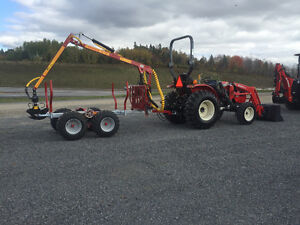 Log loader and Trailers for compact tractors $156.00/M and up St. John's Newfoundland image 15