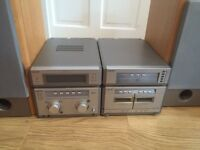 2 part sony Hifi 6disc