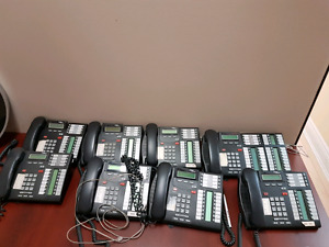 Nortel Avaya T7316E - Part # NT8B27 Full PBX system with Mailbox