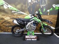 Kawasaki KX450F Motocross bike