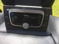 Fiesta ST Sony CD radio