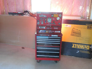 3 tier snapon tool box