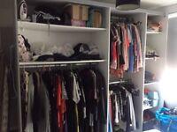 MUST GO TODAY Extraordinarily LARGE wardrobe/storage display unit