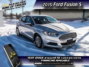 2015 Ford Fusion S   - $125.83 B/W