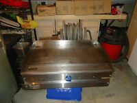 36 INCH FLAF TOP GRILL