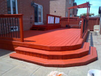 PROFESSIONAL FENCE & DECK PAINTING! SUMMER SPECIAL!