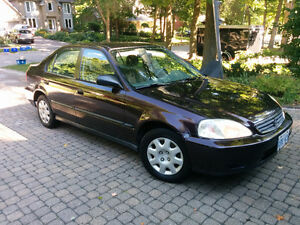 2000 Honda Civic fully serviced and in great condition - REDUCED