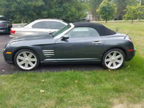 2008 crossfire roadster limited