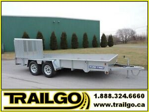2019 Remorque ST coté haut Galv 7X16 High Side Trailer