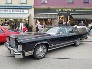 1979 Lincoln Continental Towncar for sale or trade