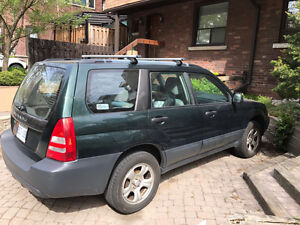 2005 Subaru Forester 2.5X SUV All Wheel Drive