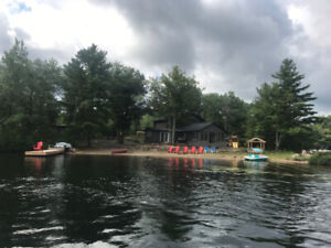 waterfront cottage rental kawartha lakes - Kasshabog