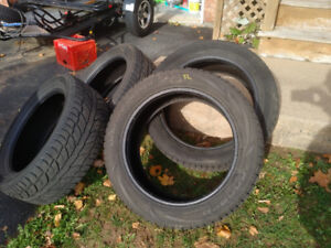 Four 20 inch winter tires  255/50R/20 $200 255/50/20