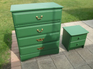 green dressers small $50 large $375