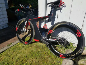 Cervelo P5x SRAM Etap 2017 Large + travel bag
