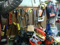 Tools and tool boxes.