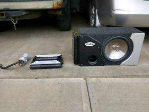 12 inch Sub with two amps