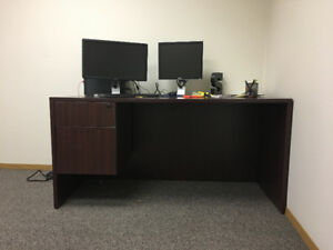 Solid Wood Office Desk Executive home or office